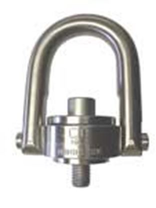 Picture of SS-125 Style-Stainless Steel Hoist Rings-Metric Threads