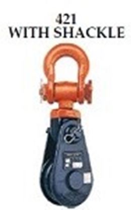 Picture of 421 SNATCH BLOCK WITH SHACKLE