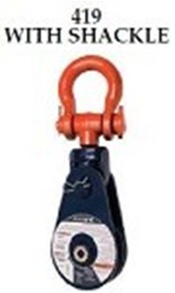 Picture of 419 SNATCH BLOCK WITH SHACKLE