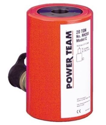 Picture of 20Ton, Center Hole Single Action Cylinder RH20 Series Powerteam