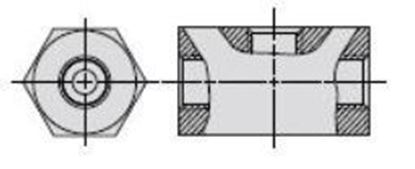 Picture of 9671- Double Tee Adapter