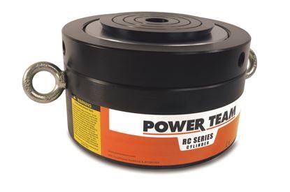 "Picture of 380 Ton Hydraulic 1.75"" Single Acting Cylinder Locking Collar Pancake RC3802P"