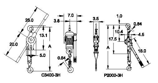 wire rope pullers