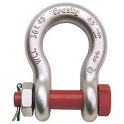 Picture of  CROSBY Bolt/Nut Safety Shackles-Alloy Galvanized G-2140