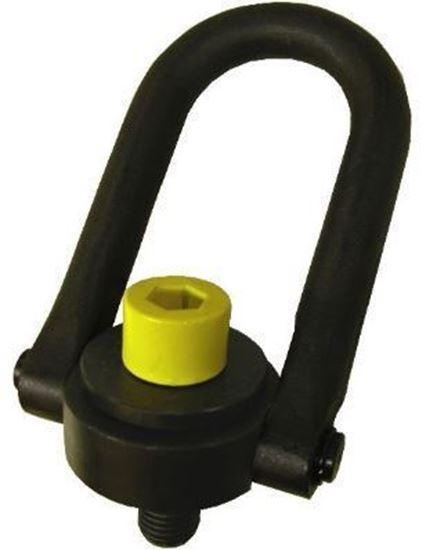 """Picture of 1/4""""-20 SAFETY SWIVEL HOIST RING ACTEK MFG. 600LB WLL"""