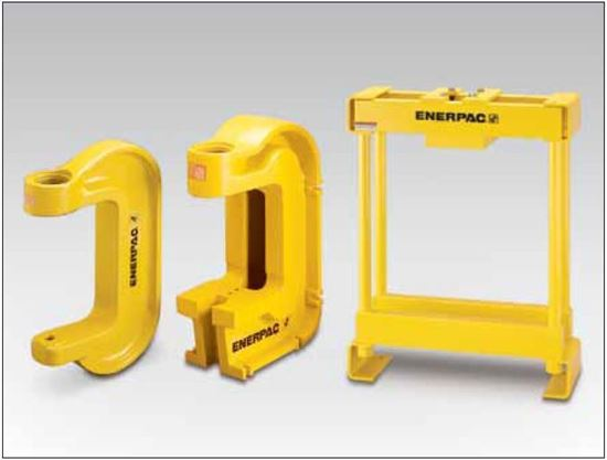A ip series arbor c clamp and bench frame presses