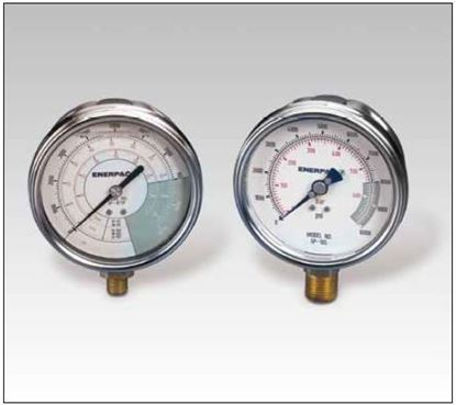 Picture of GF, GP Series, Hydraulic Force and Pressure Gauge Enerpac