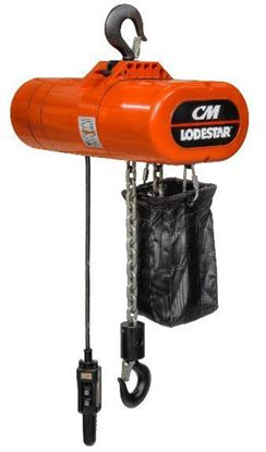 Picture of CM Lodestar- Electric Chain Hoist with 10' Lift